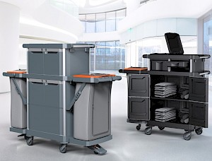 TWT HOTEL, THE MULTI-PURPOSE TROLLEY LINE THAT REVOLUTIONIZES CLEANING IN THE HOSPITALITY WORLD